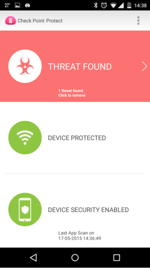 checkpoint_Android-ThreatDetected