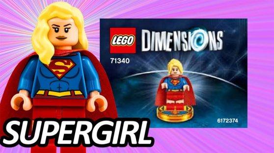La Minifigura De Supergirl En Exclusiva Con Los Starter Pack De Lego