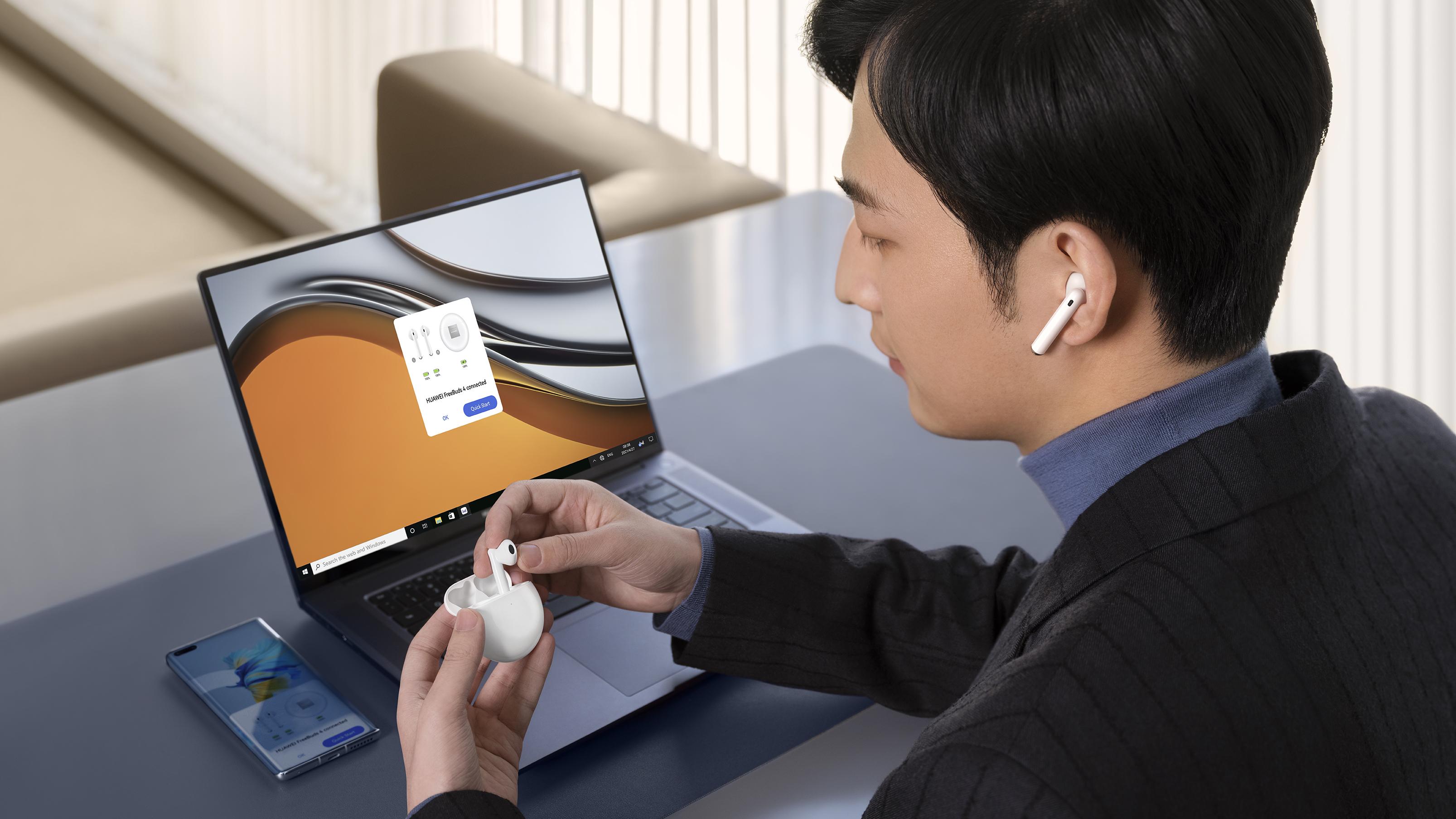 Cancelación activa de ruido mejorada y mayor confort: la propuesta de los  nuevos auriculares TWS HUAWEI FreeBuds 4   El Candelero Tecnológico